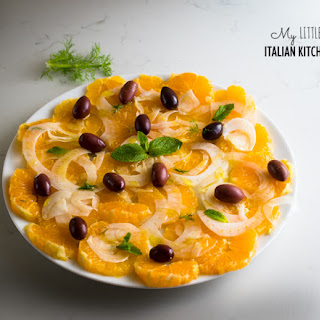 Sicilian Orange And Fennel Salad With Black Olives
