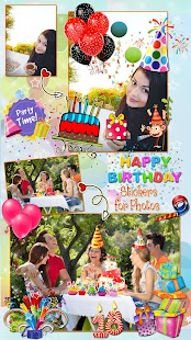 Birthday Stickers for Photos ? Sticker Pic Editor - náhled