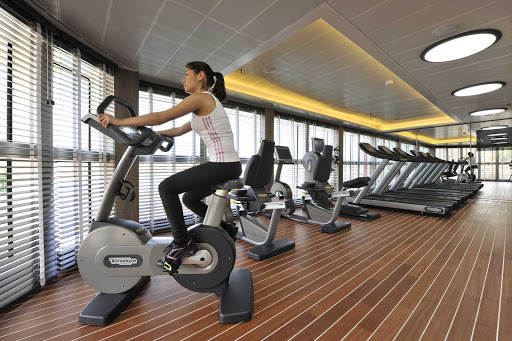 Ponant-fitness.jpg - Stay fit while exploring new vistas on a Ponant cruise.