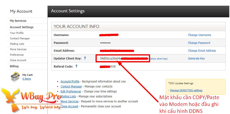 Cách bảo mật tài khoản DYN.com chống bị HACK Pass