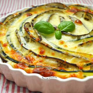 Zucchini And Eggplant Cheesecake