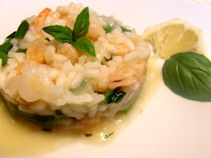 Risotto with Baby Shrimp Recipe