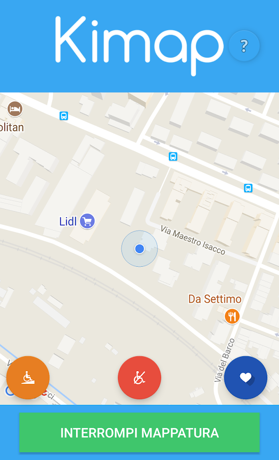 Kimap- screenshot