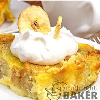Banana Bread Bread Pudding Recipe