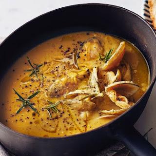 Zuppa Di Ceci E Vongole (chickpea And Clam Soup).