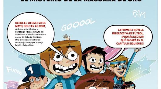 Kimitec patrocina la primera novela interactiva de Los Futbolísimos