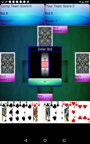 Spades - County Rules Screenshot