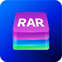 Unrar Unzip & Zip File Reader Extract File Manager icon