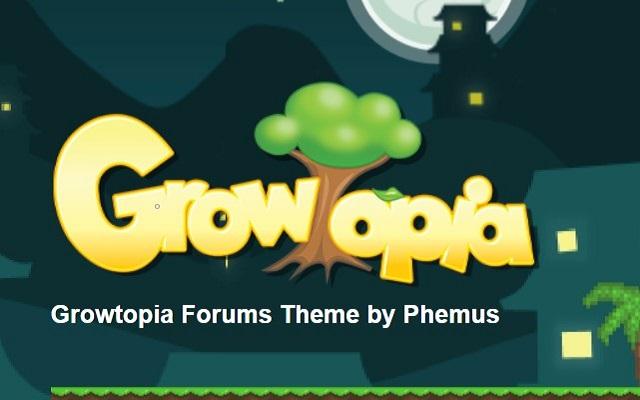 Growtopia Forums Dark Theme