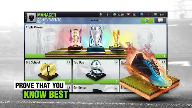 Top Eleven Fußball-Manager APK screenshot thumbnail 6