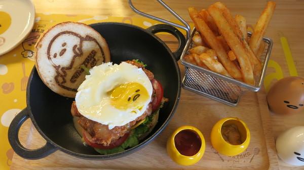 Gudetama Chef 蛋黃哥主題餐廳~跟著蛋黃哥主廚一起發懶吧~口愛到爆炸之拍個不停~