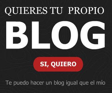 ¿Quieres tu propio Blog?