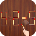 Matchstick Puzzle : Math Puzzle With Sticks icon