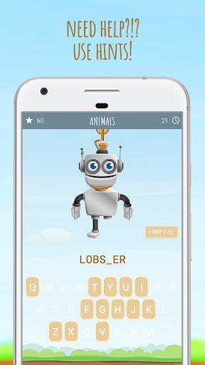 Hangman 3D 🎃 screenshot