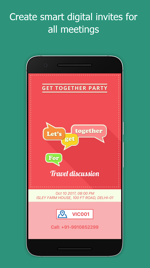 ADDNUM-Event Invitation Card Maker,ZIP Postal Code- screenshot