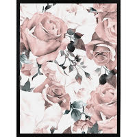 Poster 30x40 Pink Roses