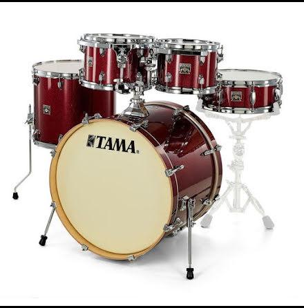 Tama Superstar Classic - CK52KRS-DRP - Dark Red Sparkle