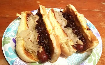 New York Hot Dog With Onion Sauce Recipe