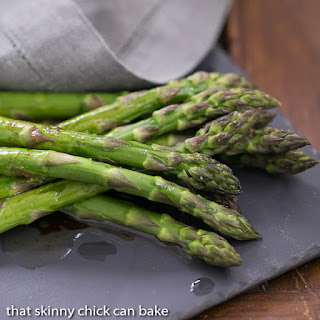 Roasted Asparagus with Balsamic Browned Butter~