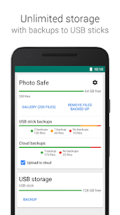 Photo Safe - backup on the go- screenshot thumbnail