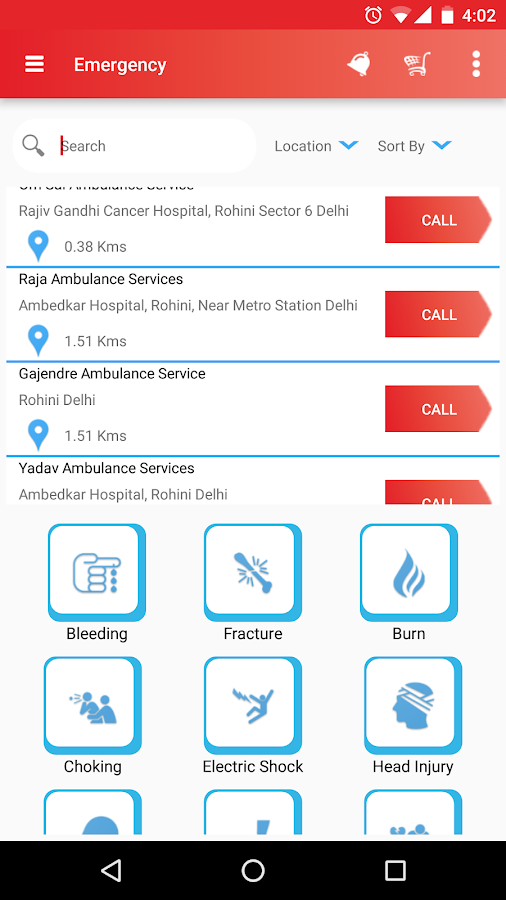 Healthcare App - MedNirvana- screenshot