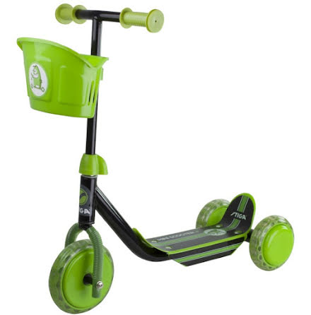 Stiga Scooter Mini Kid 3W, Grön/Svart