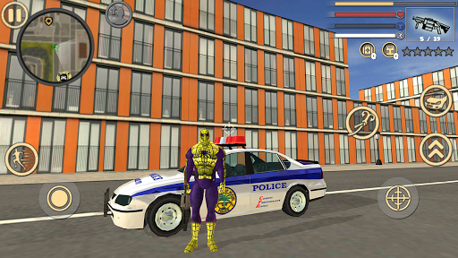 Spider Rope Hero Frog Strange Ninja Gangster Crime 1.0 screenshots 1