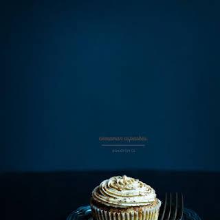 Cinnamon Cupcakes.