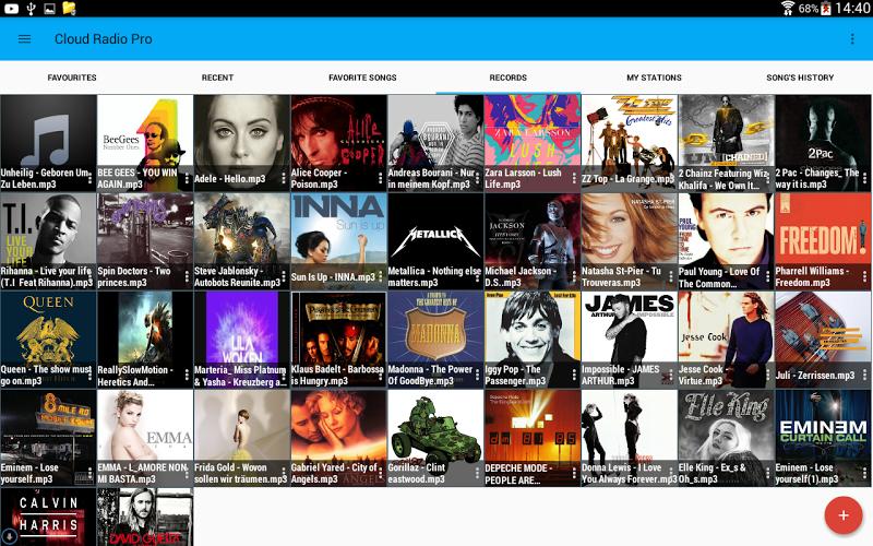 Cloud Radio Pro ( Record & Lyrics ) Screenshot 10