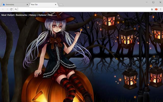 Halloween Wallpapers HD New Tab Theme