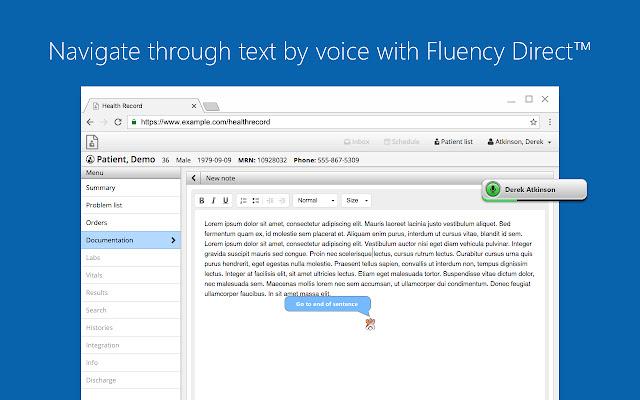 M*Modal Fluency Direct Web Connector