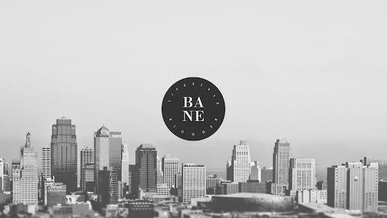 Bane Lifestyle - YouTube Channel Art Template