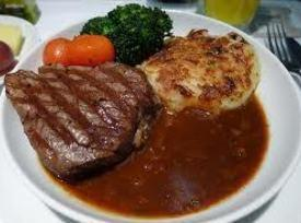 Filet Of Beef With Pommery Mustard Sauce Recipe