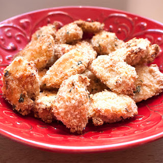 Parmesan Baked Chicken Nuggets