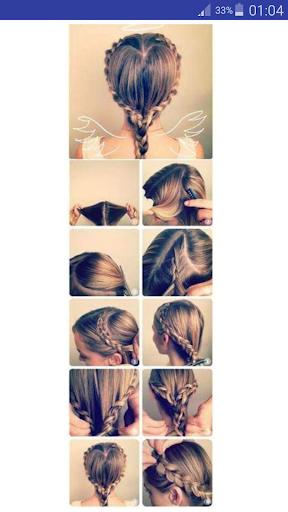 玩免費遊戲APP|下載Hairstyle Step by Step app不用錢|硬是要APP