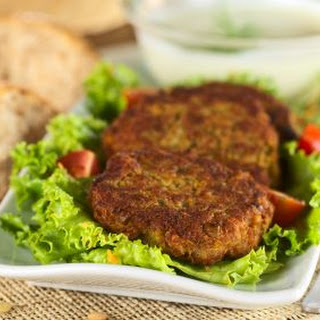 Lentil and Chickpea Burger.