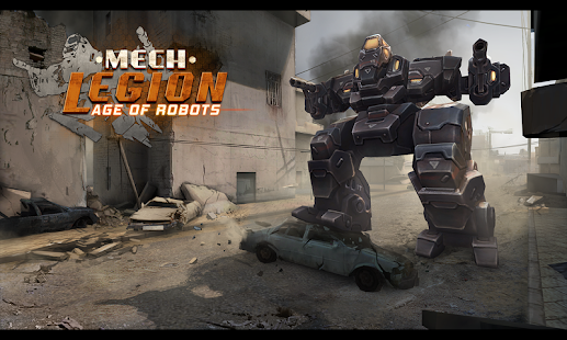 Mech Legion: Age of Robots - náhled