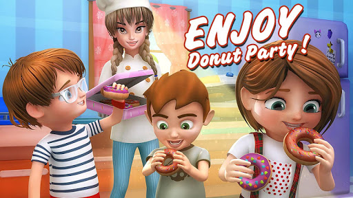 Donut Maker 3d - Sweet Bakery & Cake Shop 1.0 screenshots 6