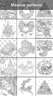 2018 Christmas Coloring Book - náhled