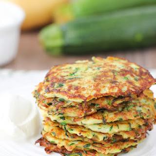 Zucchini and Potato Fritters Recipe