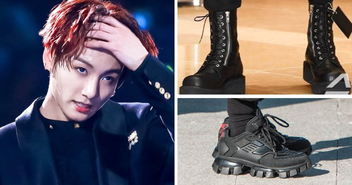9 Bts Jungkook Shoes That Will Make You Say Step On Me