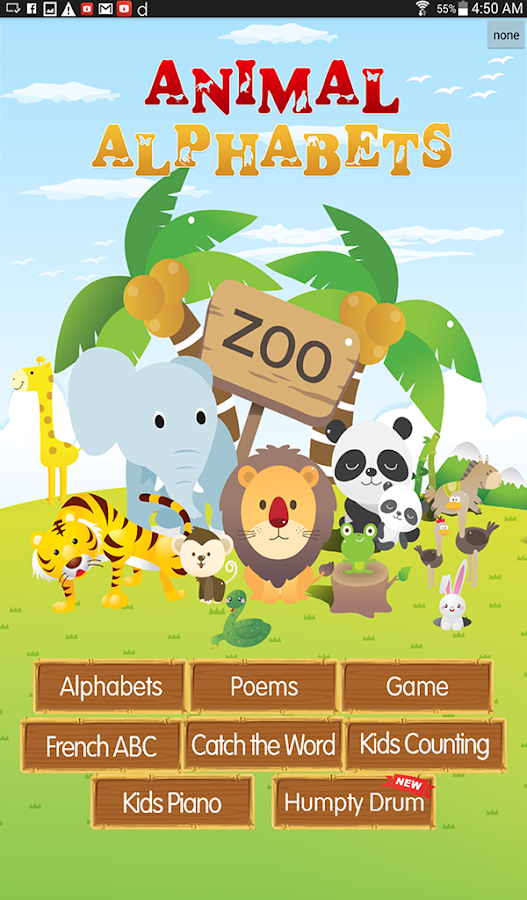 Animal Alphabets ABC Poem Kids- screenshot