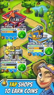 Tap Empire Idle Tycoon Tapper & Business Sim Game 2.9.8 Mod (Infinite Gem) 1