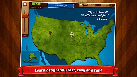 GeoFlight USA: Geography screenshot 0