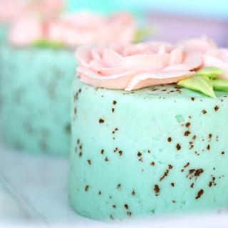 Mini Speckled Egg Cakes