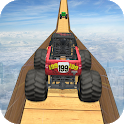 Monster Truck Stunts on Impossible Track icon