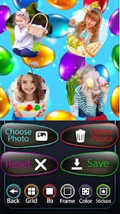 easter eggs fotografie koláž - náhled