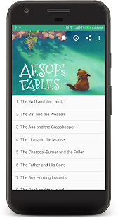 Aesop's Fables Audible Book - náhled