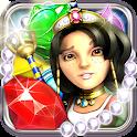 Jewellust Platinum: match 3 icon