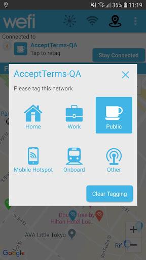 WeFi - Automatic WiFi screenshot 2